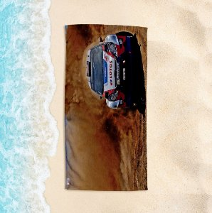 Toalha de Praia Yuzo 70x140cm Foto Rally