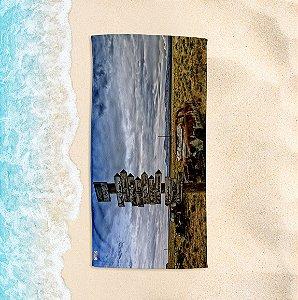 Toalha de Praia Yuzo 70x140cm Foto Caminhos