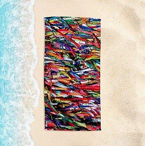 Toalha de Praia Yuzo 70x140cm Cartão Postal Senhor do Bonfim
