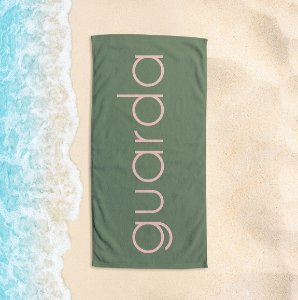 Toalha de Praia Yuzo 65x135cm Praias Guarda