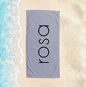 Toalha de Praia Yuzo 65x135cm Praias Rosa
