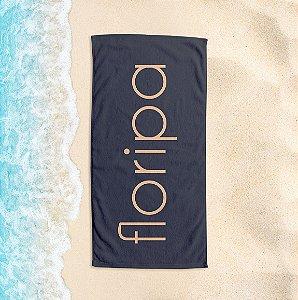 Toalha de Praia Yuzo 65x135cm Praias Floripa