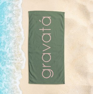 Toalha de Praia Yuzo 65x135cm Praias Gravatá