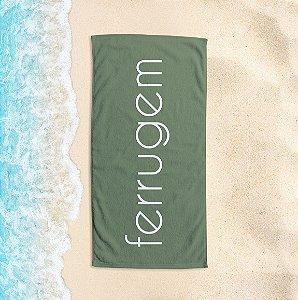 Toalha de Praia Yuzo 65x135cm Praias Ferrugem