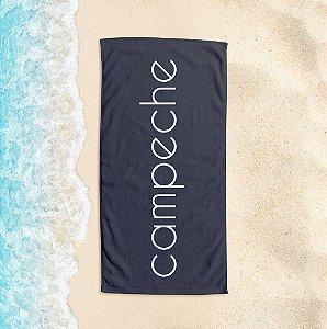 Toalha de Praia Yuzo 65x135cm Praias Campeche