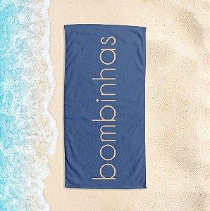 Toalha de Praia Yuzo 65x135cm Praias Bombinhas