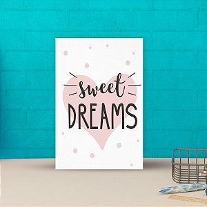 Placa decorativa 20x30cm Decorativa Sweet Dreams