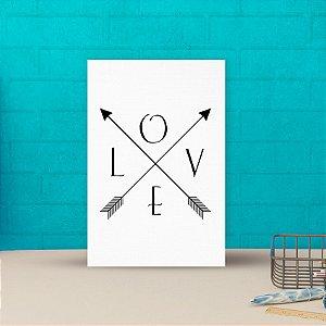 Placa decorativa 20x30cm Decorativa Love