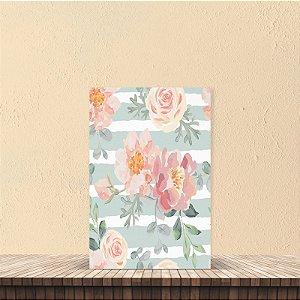 Placa decorativa 20x30cm Decorativa Floral