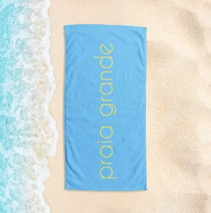 Toalha de Praia Yuzo 65x135cm Praias Praia Grande