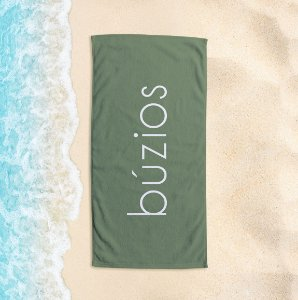 Toalha de Praia Yuzo 65x135cm Praias Búzios