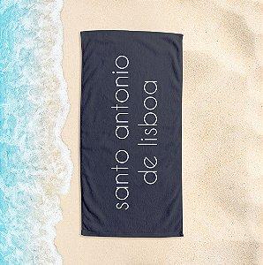 Toalha de Praia Yuzo 65x135cm Praias Santo Antonio de Lisboa