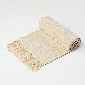 Manta Xale 1,30 x 1,30mt Off White