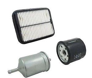 Kit de Filtros (Combustível, Ar e Óleo) |Towner Van e Picape