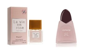 Perfume La vi en Rose 25 ML Entity + Victoria 100 ML  S/ Caixa