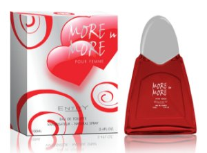 More in More Perfume Entity Feminino Eau De Toilette 100ml