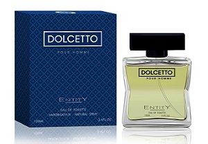 Dolcetto Perfume Entity Masculino Eau De Toilette 100ml