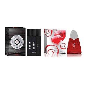 Kit 2 Perfumes Entity Masculino e Feminino 100 ml cada