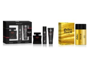 KIT- NATAL PAPAI NOEL CHEGOU  ESTOJO BLACK BELT 3 PÇS EDT 100ML + DESO + GEL  + 1 GOLDEN HOURS 100 ML