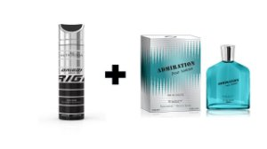 Desodorante Spray Alta Moda Intense 200 ml + Perfume Entity Admiration 100 ml