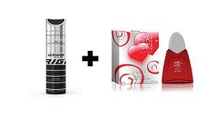 Desodorante Spray Alta Moda Intense 200 ml + Perfume Entity More In More 100 ml