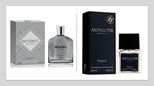 Perfume Invisible Hom 100ml + 1 Perfume Axon Elixir 25 ml New Concept