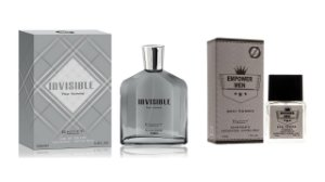 Perfume Invisible Hom 100ml + 1 Perfume Empower Men 25 ml New Concept