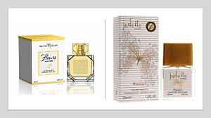 Perfume Fleurs Alta moda 100ml + 1 Perfume Jadeite 25 ml New Concept