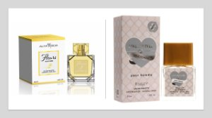 Perfume Fleurs Alta moda 100ml + 1 Perfume Love For Ever 25 ml New Concept