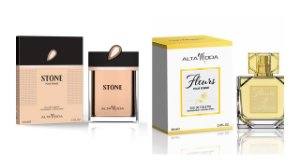 Perfume Stone Dourado 100ml + Perfume Fleurs100 ml - Alta Moda
