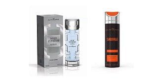 Perfume Extreme Marine 100ml + Desodorante Sauvage 200ml - Alta Moda