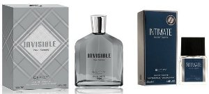 Perfume Invisible Hom 100ml + 1 Perfume Intimate 25 ml New Concept
