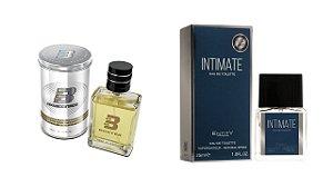 PERFUME BOXTER WHITE 100ML + INTIMATE ENTITY 25ML- 1 PÇ CADA