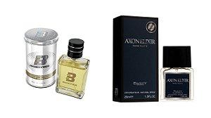 PERFUME BOXTER WHITE 100ML + AXON ELIXIR ENTITY 25ML- 1 PÇ CADA