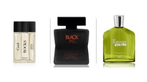 KIT PROVADORES ENTITY- 100ML 3 PEÇAS- Cool + Black+Roman - OFERTA 36 HORAS