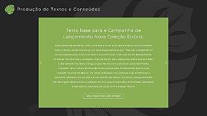Produção de Textos e Conteúdos