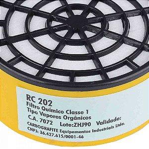 FILTRO RC 202 P/ RESPIRADOR CG 306