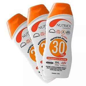BLOQUEADOR SOLAR UV FPS 30 120G - NUTRIEX (un.)