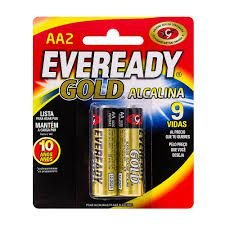 PILHA PALITO 1,5 C/2 ALCALINA - EVEREADY GOLD