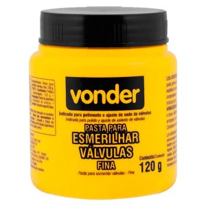 Pasta p/ Esmerilhar Válvula - Fina 120g - VONDER