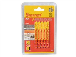 Lâmina p/ Serra tico-tico bi-metal BU214 embalagem c/ 5un. - STARRET