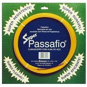 PASSA FIO EM AÇO REVESTIDO - 30mt