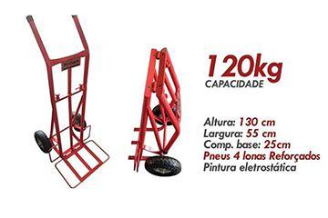 CARRINHO INDUSTRIAL DOBRÁVEL 120KG - RODAR