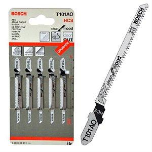 Lâminas de serra Tico Tico T 101AO - embalagem c/ 5un.