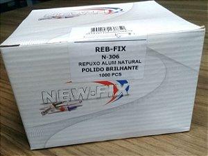 REBITE REPUXO ALUMÍNIO T-306 - 1/8 CX C/ 1000un.