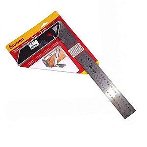 Esquadro para Carpinteiro Nº 53M Inox - STARRETT