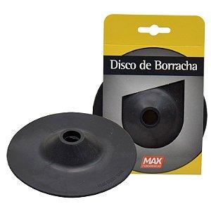 """Disco de Borracha Flexível 4.1/2"""" - MAX"""
