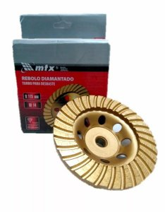 REBOLO DIAMANTADO TURBO/SEGMENTADO  115MM X M14 - MTX