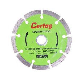 """DISCO DIAMANTADO SEGMENTADO 4.3/8"""" - CORTAG"""
