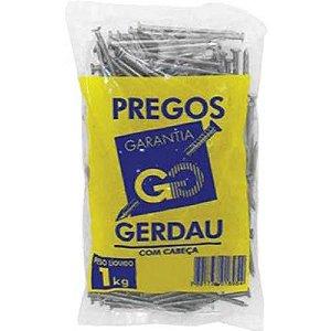 PREGOS 20x30 C/ CABEÇA 1 KG - GERDAU